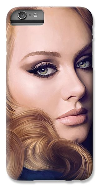 Adele Artwork  IPhone 6 Plus Case by Sheraz A