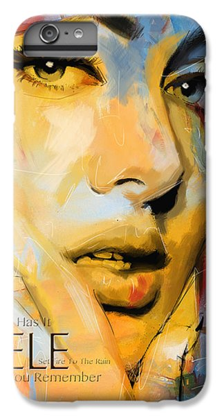 Adele IPhone 6 Plus Case by Corporate Art Task Force