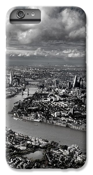 Aerial View Of London 4 IPhone 6 Plus Case by Mark Rogan