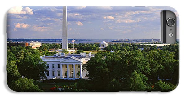 Aerial, White House, Washington Dc IPhone 6 Plus Case by Panoramic Images