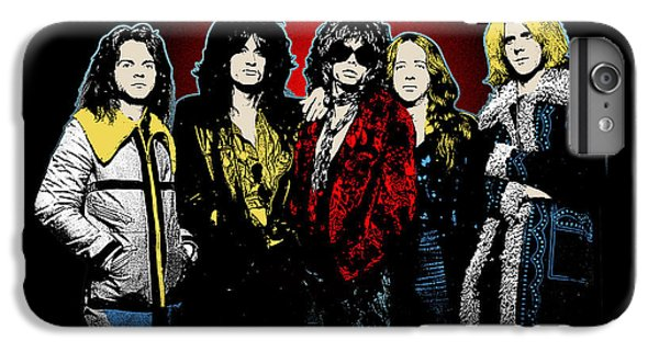 Aerosmith - 1970s Bad Boys IPhone 6 Plus Case by Epic Rights