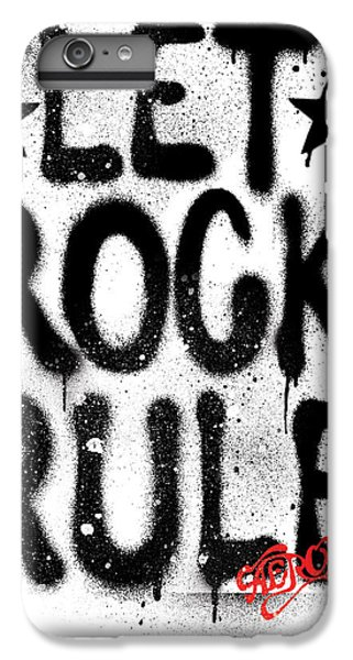 Aerosmith - Let Rock Rule Graffiti IPhone 6 Plus Case by Epic Rights