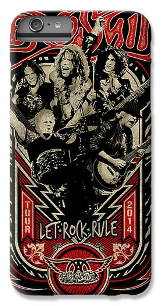 Aerosmith - Let Rock Rule World Tour IPhone 6 Plus Case by Epic Rights