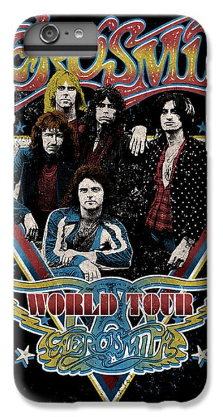 Aerosmith - World Tour 1977 IPhone 6 Plus Case by Epic Rights