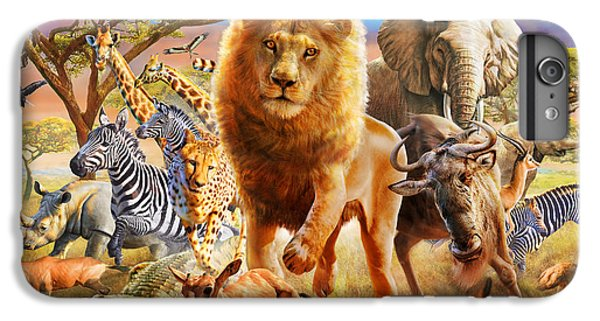 African Stampede IPhone 6 Plus Case by Adrian Chesterman
