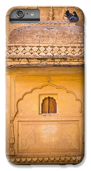 Amber Fort Birdhouse IPhone 6 Plus Case by Inge Johnsson