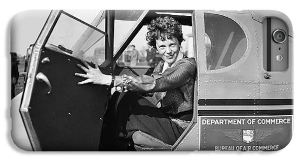 Amelia Earhart - 1936 IPhone 6 Plus Case by Daniel Hagerman