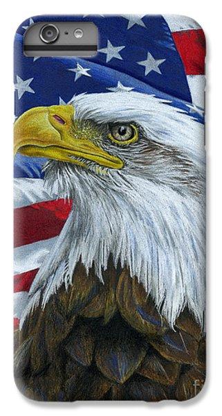 American Eagle IPhone 6 Plus Case by Sarah Batalka