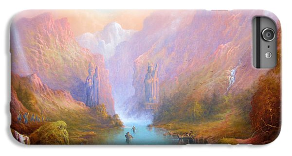 Anduin The Great River IPhone 6 Plus Case by Joe  Gilronan
