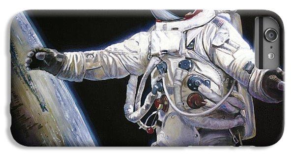Apollo 9 - Schweickart On The Porch IPhone 6 Plus Case by Simon Kregar