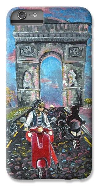 Arc De Triomphe IPhone 6 Plus Case by Alana Meyers