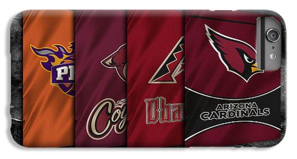 Arizona Sports Teams IPhone 6 Plus Case by Joe Hamilton