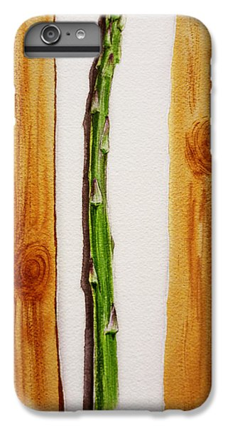 Asparagus Tasty Botanical Study IPhone 6 Plus Case by Irina Sztukowski