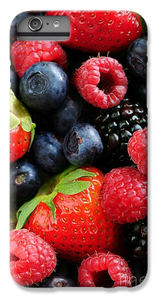Assorted Fresh Berries IPhone 6 Plus Case by Elena Elisseeva