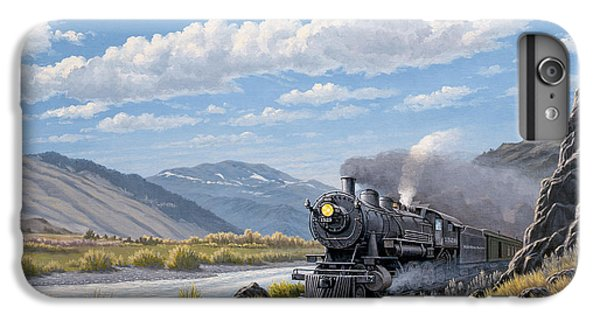 At Point Of Rocks- Bound For Livingston  IPhone 6 Plus Case by Paul Krapf