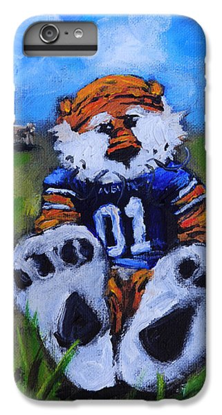 Aubie With The Cows IPhone 6 Plus Case by Carole Foret
