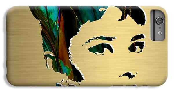 Audrey Hepburn Gold Series IPhone 6 Plus Case by Marvin Blaine