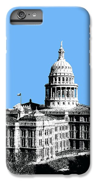 Austin Texas Capital - Sky Blue IPhone 6 Plus Case by DB Artist