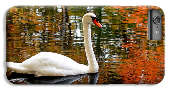 Autumn Swan IPhone 6 Plus Case by Lourry Legarde