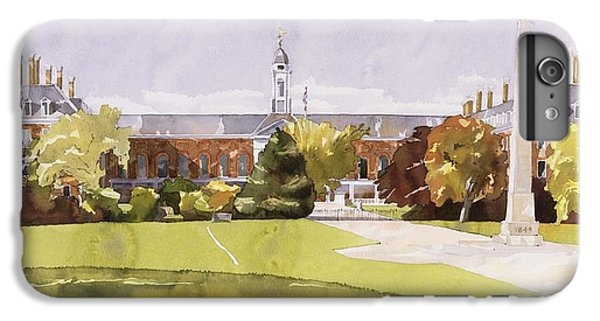 The Royal Hospital  Chelsea IPhone 6 Plus Case by Annabel Wilson