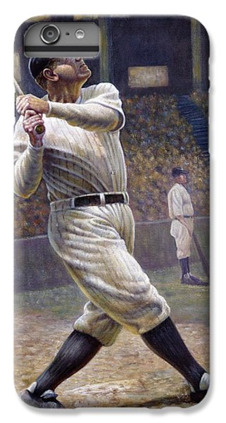 Babe Ruth IPhone 6 Plus Case by Gregory Perillo