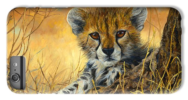 Baby Cheetah  IPhone 6 Plus Case by Lucie Bilodeau