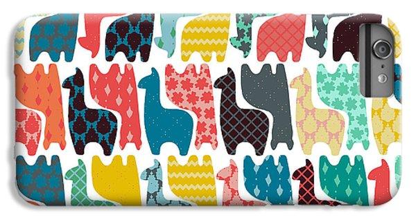 Baby Llamas IPhone 6 Plus Case by Sharon Turner
