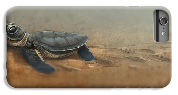 Baby Turtle IPhone 6 Plus Case by Aaron Blaise
