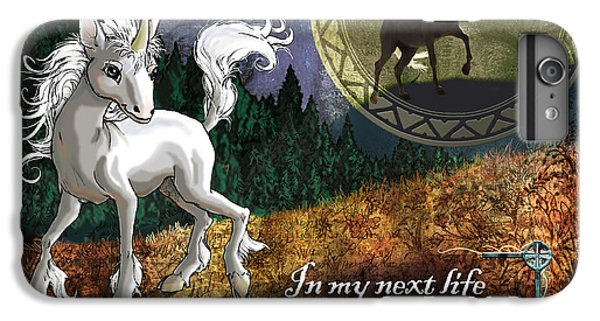 Baby Unicorn IPhone 6 Plus Case by Evie Cook