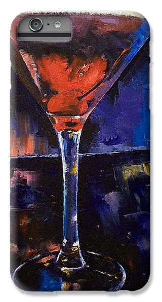 Backstage Martini IPhone 6 Plus Case by Michael Creese