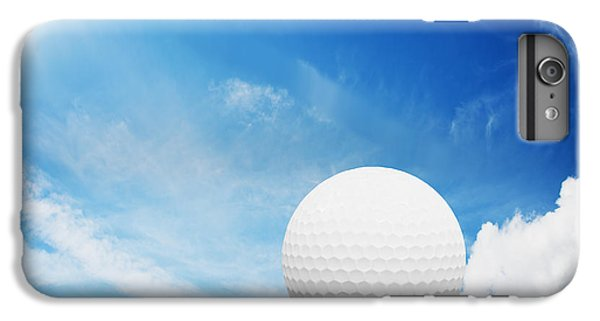 Ball On Tee On Green Golf Field IPhone 6 Plus Case by Michal Bednarek