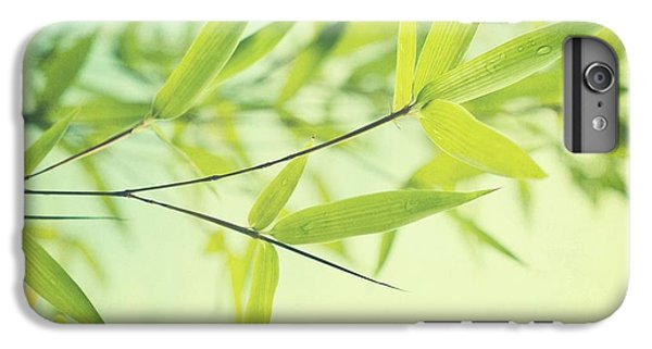 Bamboo In The Sun IPhone 6 Plus Case by Priska Wettstein