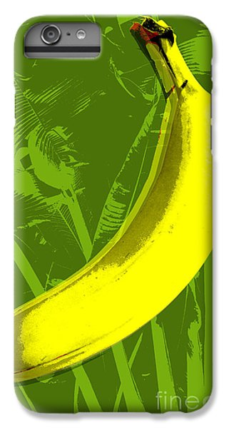 Banana Pop Art IPhone 6 Plus Case by Jean luc Comperat