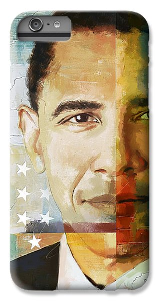 Barack Obama IPhone 6 Plus Case by Corporate Art Task Force