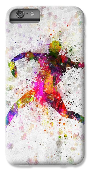 Baseball Player - Pitcher IPhone 6 Plus Case by Aged Pixel