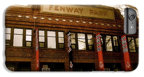 Baseballs Classic  V Bostons Fenway Park IPhone 6 Plus Case by Iconic Images Art Gallery David Pucciarelli