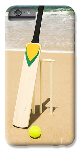 Bat Ball And Stumps IPhone 6 Plus Case by Jorgo Photography - Wall Art Gallery