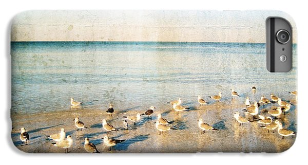 Beach Combers - Seagull Art By Sharon Cummings IPhone 6 Plus Case by Sharon Cummings