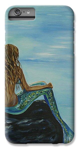 Beautiful Magic Mermaid IPhone 6 Plus Case by Leslie Allen