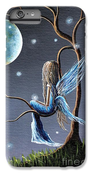 Fairy Art Print - Original Artwork IPhone 6 Plus Case by Shawna Erback