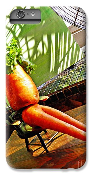Beer Belly Carrot On A Hot Day IPhone 6 Plus Case by Sarah Loft
