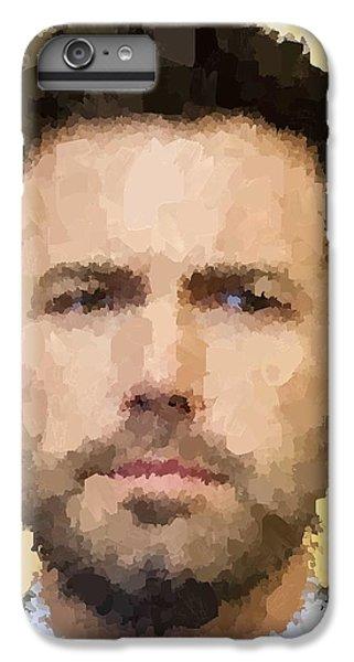 Ben Affleck Portrait IPhone 6 Plus Case by Samuel Majcen