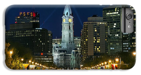 Ben Franklin Parkway And City Hall IPhone 6 Plus Case by John Greim