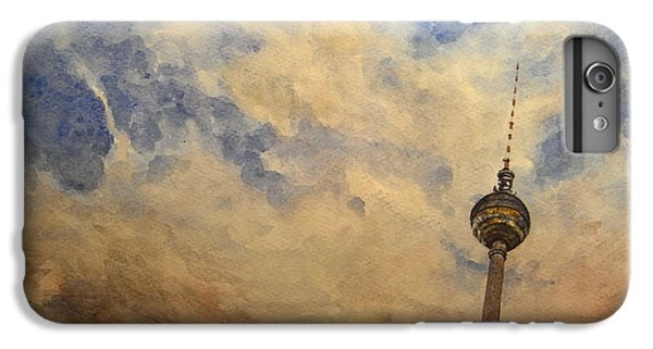 Berliner Sky IPhone 6 Plus Case by Juan  Bosco
