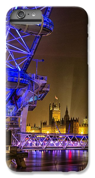 Big Ben And The London Eye IPhone 6 Plus Case by Ian Hufton