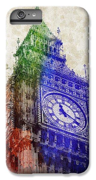 Big Ben London IPhone 6 Plus Case by Aged Pixel