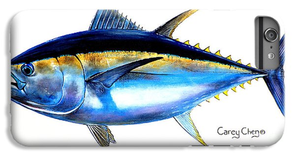 Big Eye Tuna IPhone 6 Plus Case by Carey Chen