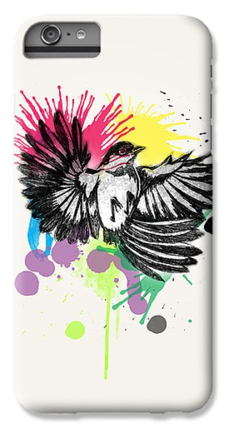 Bird IPhone 6 Plus Case by Mark Ashkenazi