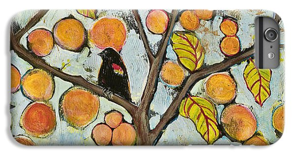 Birds In Paris Landscape IPhone 6 Plus Case by Blenda Studio
