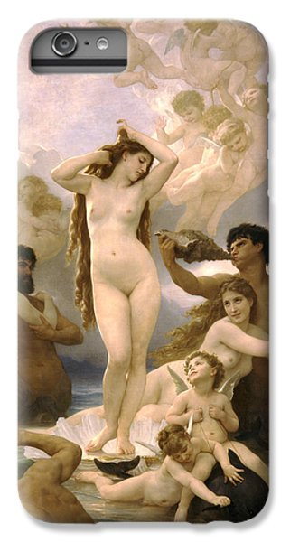 Birth Of Venus IPhone 6 Plus Case by William Bouguereau